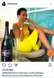 download She made it: Rick Ross posts about Huddah