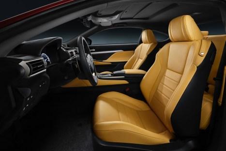 Lexus RC 350 Driver's Seat