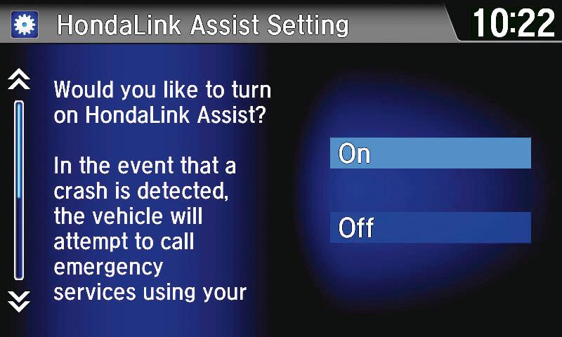 HondaLink Assist