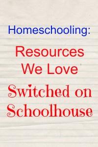 Homeschooling: Resources We Love – SOS