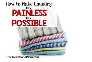 How to Make Laundry as Painless as Possible