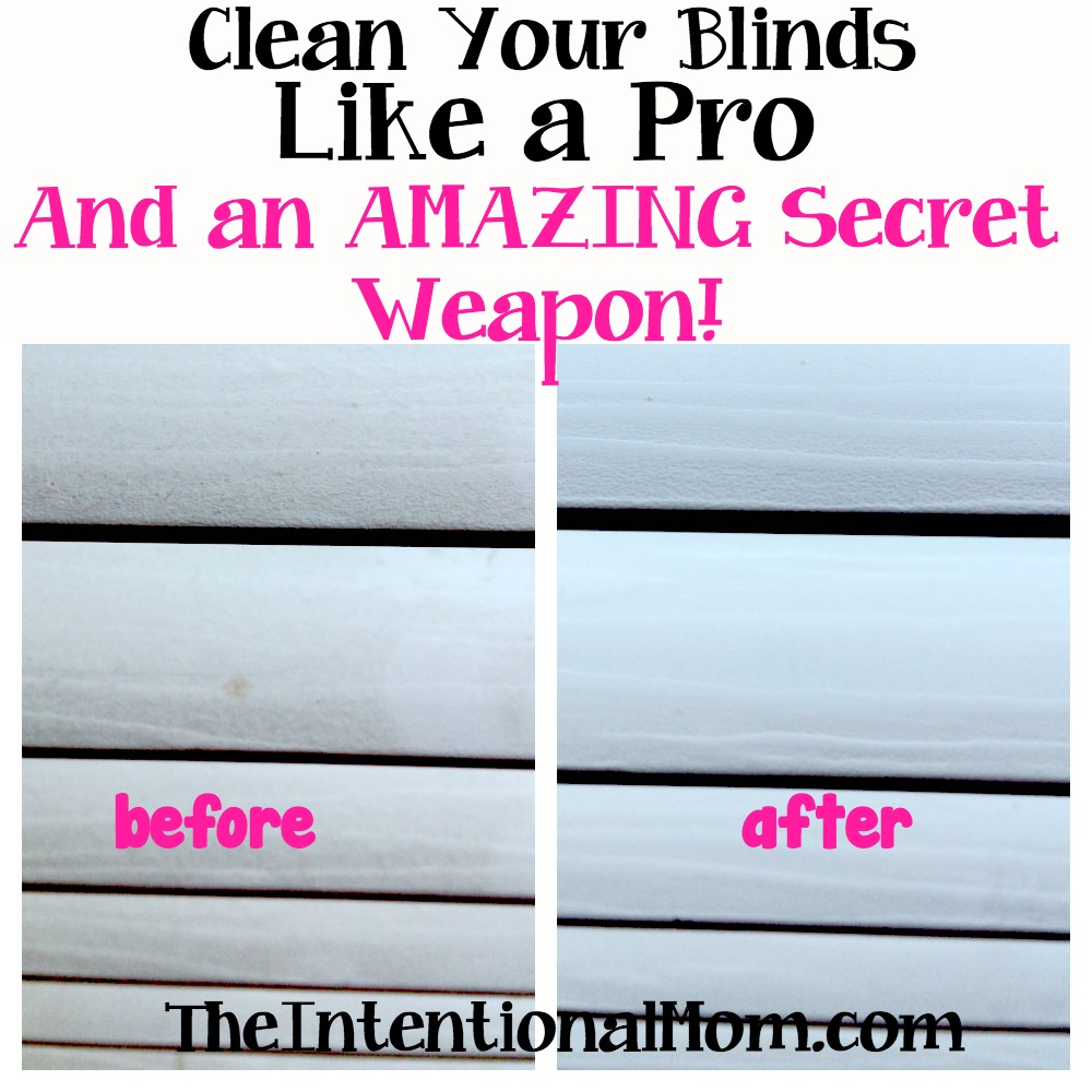 clean blinds