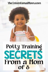 Potty Training Secrets From a Mom of 8