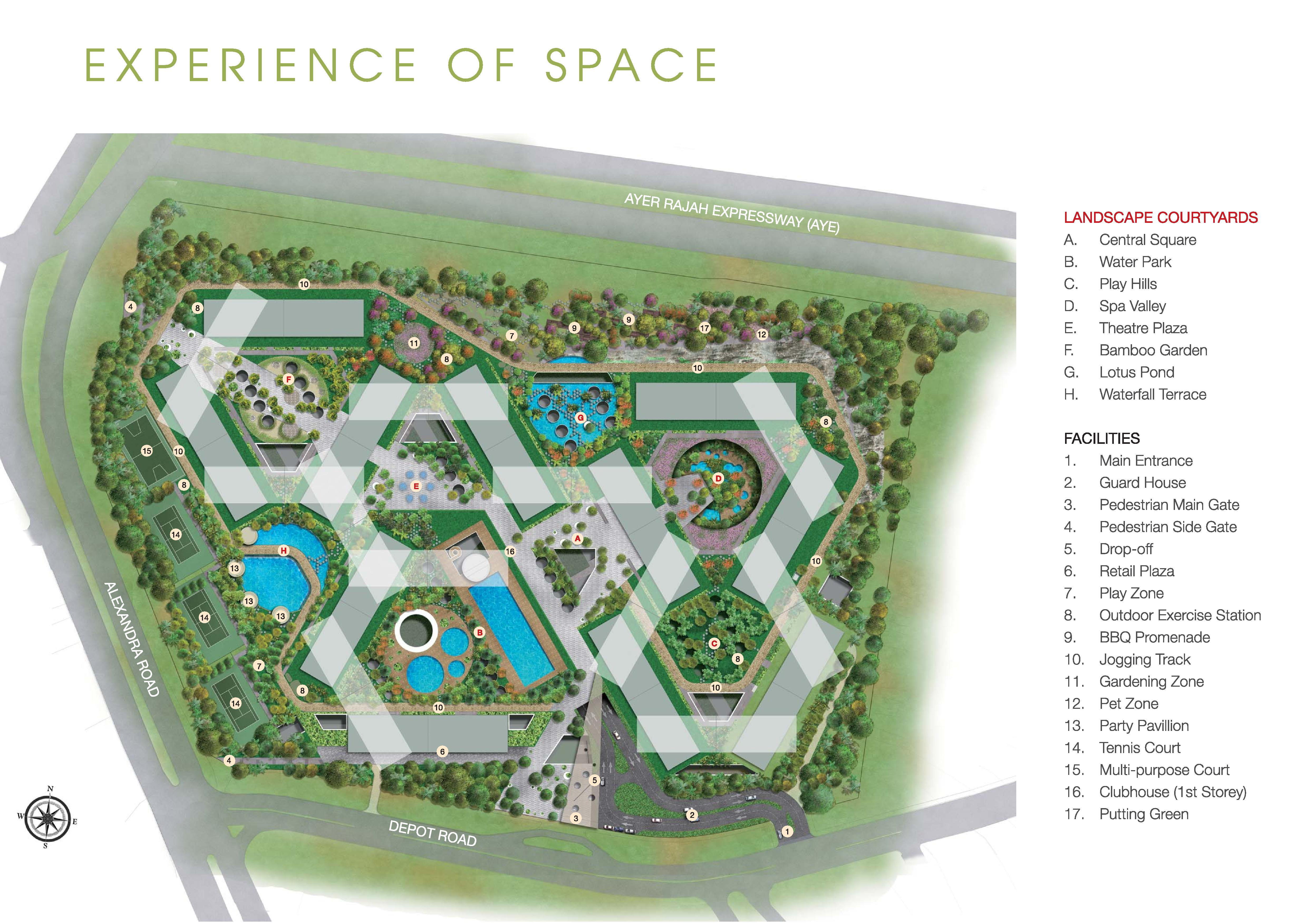 The Interlace Site Map