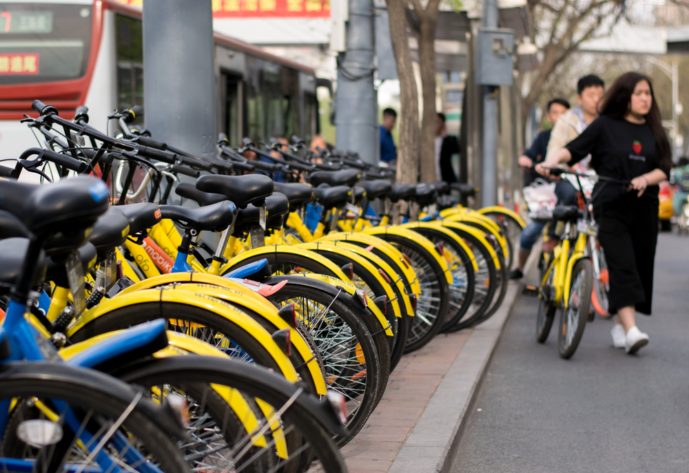 Chinese bike-sharing startup Ofo raises $700M led by Alibaba