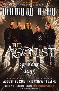 Diamond Head / The Agonist :: Rickshaw Theatre @ Rickshaw Theatre | Vancouver | British Columbia | Canada