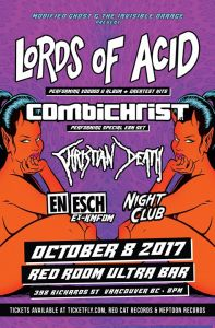 Lords of Acid / Combichrist :: Red Room Ultrabar @ Red Room Ultra Bar (Vancouver)
