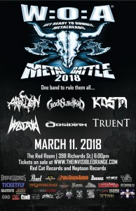 Wacken Open Air Metal Battle Vancouver 2018 :: The Red Room @ Red Room Ultra Bar (Vancouver) | Vancouver | British Columbia | Canada