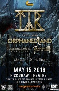 Tyr / Orphaned Land @ Rickshaw Theatre | Vancouver | British Columbia | Canada