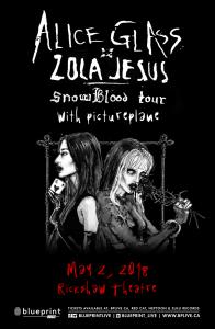 Alice Glass & Zola Jesus @ Rickshaw Theatre | Vancouver | British Columbia | Canada