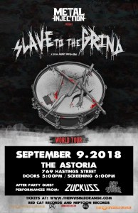 Slave To The Grind - A Film About Grindcore :: Astoria Pub @ Astoria Hastings | Vancouver | British Columbia | Canada