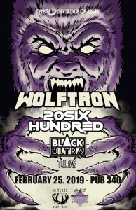 WOLFTRON | 20SIX HUNDRED @ Pub 340