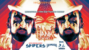 HANK VON HELL (TURBONEGRO) @ Rickshaw Theatre