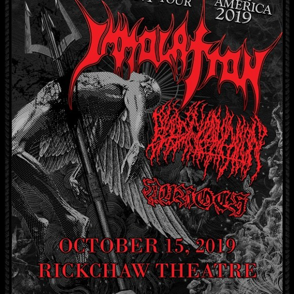 IMMOLATION announce North American tour with Blood Incantation