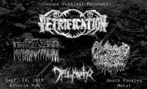 PETRIFICATION @ Astoria Pub