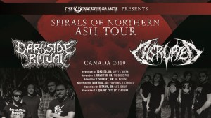 DARKSIDE RITUAL + DISRUPTED 2019 CANADA TOUR @ Various across Canada