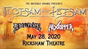 FLOTSAM AND JETSAM @ Rickshaw Theatre