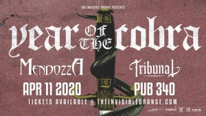 YEAR OF THE COBRA @ The Pub 340