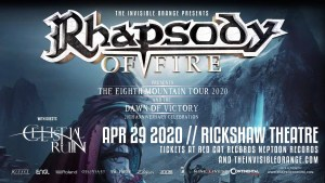 RHAPSODY OF FIRE @ Rickshaw Theatre