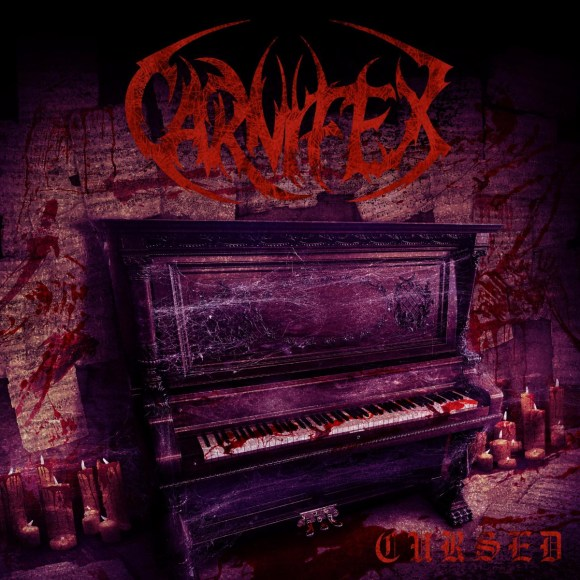 "CARNIFEX – Release Visualizer For Their New Single ""Cursed (isolation mix)"""
