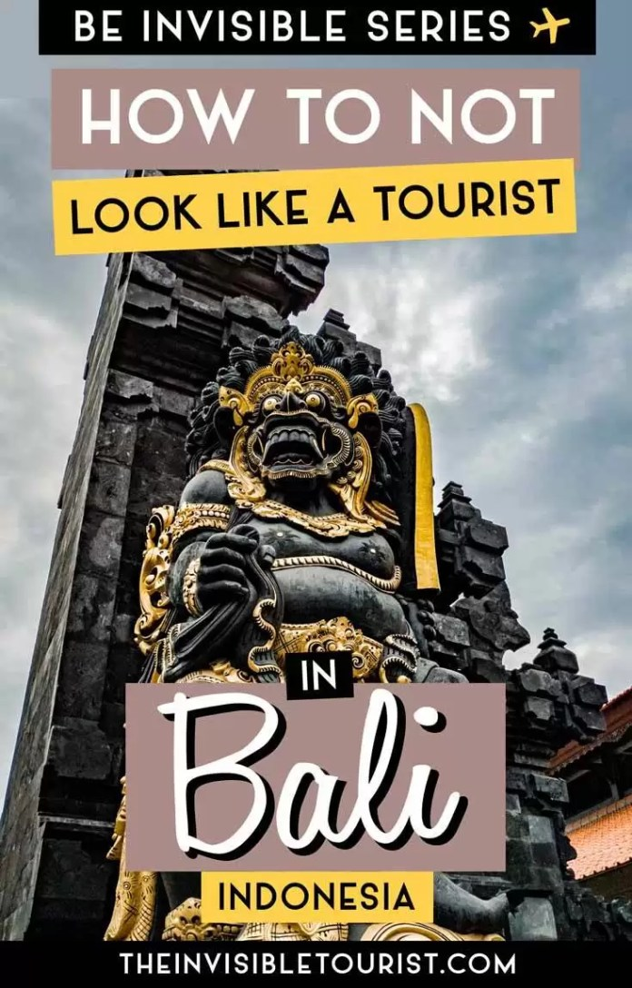 10 Simple Do S And Don Ts In Bali To Not Look Like A Tourist