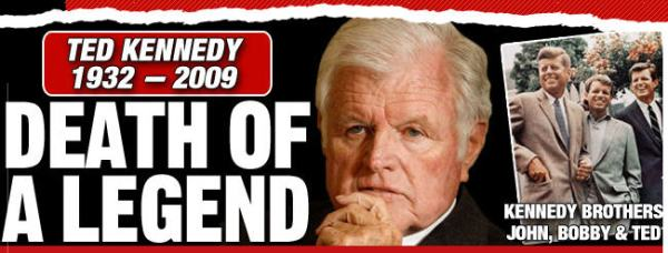 Ted Kennedy, lion of the Senate, is dead - The iPINIONS ...