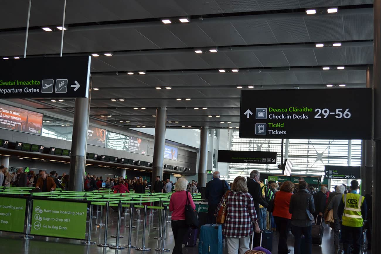 Departure Gates Dublin Airport - The Irish Place