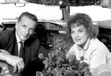 Maureen O'Hara and her husband Capt. Charlie Blair - The Irish Place