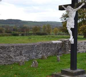 The unmarked Grave of Bridget Cleary in the old Ballyhomuck Graveyard in Clooneen - The Irish Place