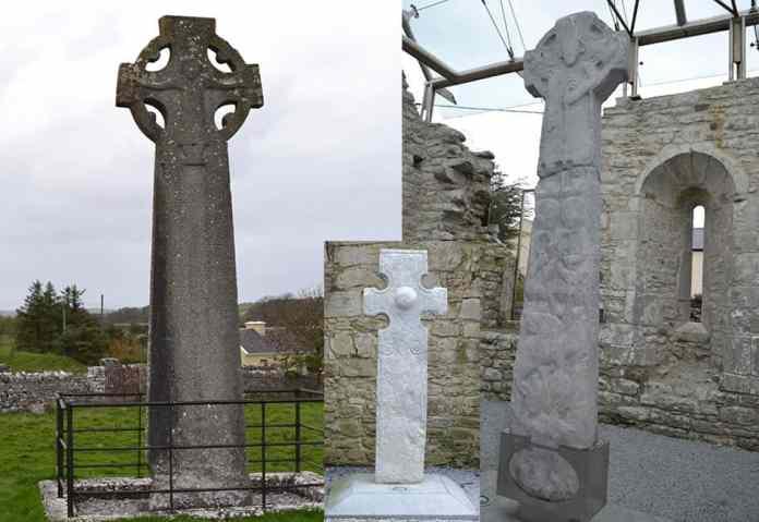 Three of the Kilfenora High Crosses - The Irish Place