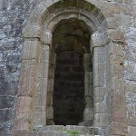 The Romanesque Doorway of the Timahoe Round Tower - The Irish Place