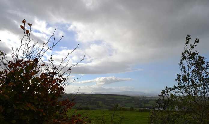 Typical Irish Weather Scene with Sun and Rain Showers - The Irish Place