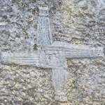 A St Brigit's Cross at St Brigits Holy Well Co. Kildare - The Irish Place