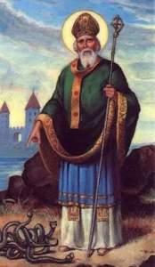 St Patrick banishing the snakes from Ireland - The Irish Place