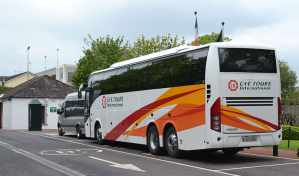 Guided Tours in Ireland - A typical Irish touring coach - The Irish Place