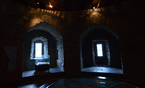 Internal view on one of the floors in Reginald's Tower - The Irish Place