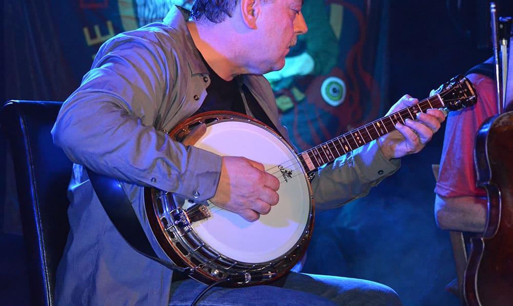 Cathal Hayden on Banjo at The Doolin Folk Festival 2016 - The Irish Place #doolinfest