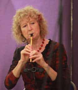 Mary Bergin playing the Tin Whistle