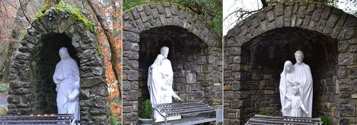 Various Holy Shrines around the Tobernalt Holy Well Site - The Irish Place
