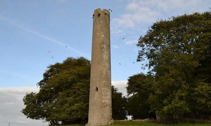 The Round Tower at Kilree Monastic Site - The Irish Place