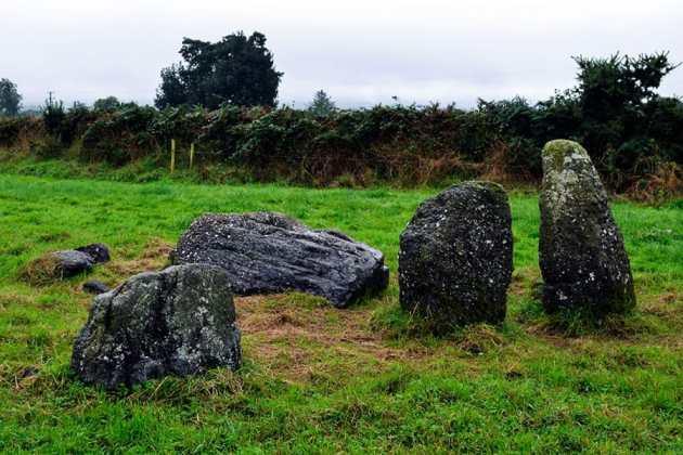 The Knockboy Stone Row - The Irish Place