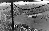 The parade at the 1924 Games.