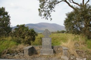 The memorial at Caherciveen.