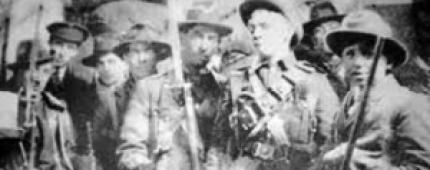 Irish Volunteers in 1916.