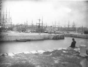 Galway docks where the dispute took place.