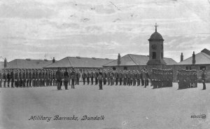The interior of Dundalk barracks. On the morning of August 14, 1922 it became a warzone.