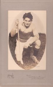 Bobby Bondfield, the anti-Treaty guerrilla who shot Dwyer, in more innocent times in the colours of St Kevin's hurling club.
