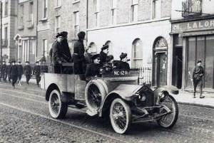 A Crossley tender carrying Auxiliary police.