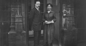 Arthur Griffith and his wife Maude.