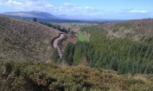 The valley of Glanagenty, near Tralee.
